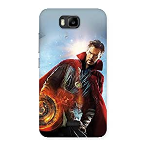 Neo World Angry Man Stare Back Case Cover for Honor Bee