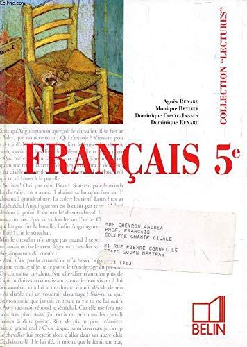 Français, 5ème