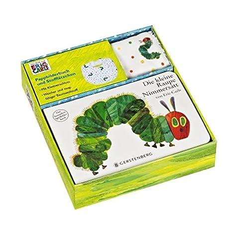 Die kleine Raupe Nimmersatt - Set mit Pappbilderbuch und Stofflätzchen