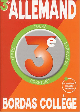 B. COLL. ALLEMAND 3E LV2 NP    (Ancienne Edition)