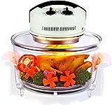 Halógeno–Horno de aire caliente–Mini Horno con ampliación Anillo–1400W