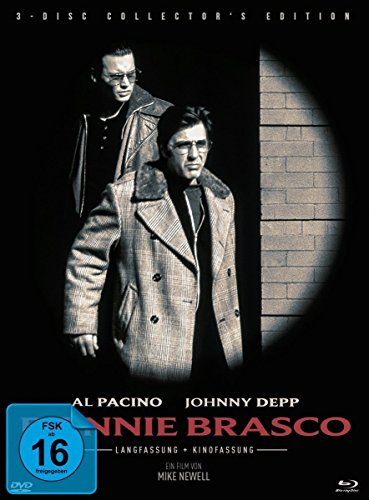 Donnie Brasco (Collector's Edition, 2 Discs + DVD) [Blu-ray]