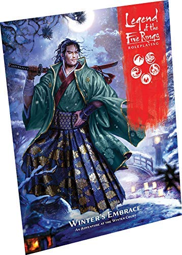 Preisvergleich Produktbild Fantasy Flight Games Legend of The Five Rings RPG - Winter's Embrace - English