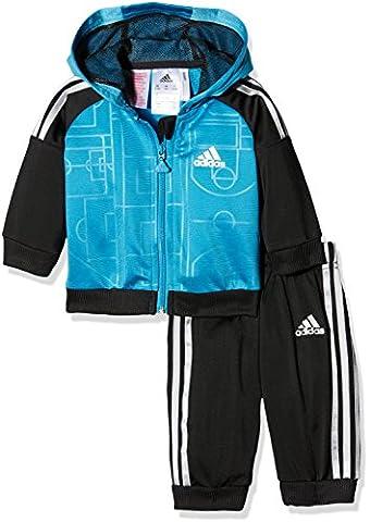 adidas I ST SHINY FZHD - Sweatshirt for Children, 92, Multicolor