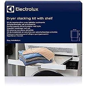 Electrolux Staking Kit Piano Estraibile Tavoletta Accatastamento Lavatrice Asciugatrice