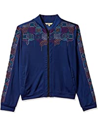 global desi Women's Crepe Jacket