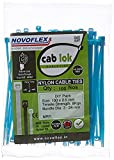#2: Novoflex Cable Ties 100mm, Blue, Pack of 100