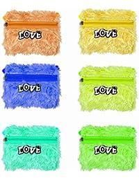 Baal Set Of 6 Pcs Soft Hand Bag Kids Bag Set For Kids Boys And Girls For Picnic, Multicolor, 45 Grams, Pack Of 1