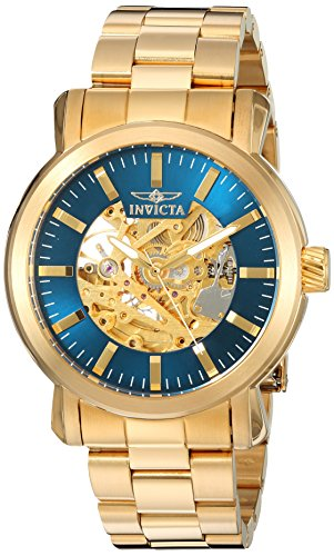 Invicta Men's 'Vintage' Automatic Stainless Steel Casual Watch, Color:Gold-Toned (Model: 22575) image
