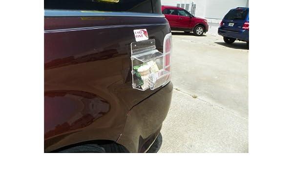 Magnetisch Outdoor Postkarte Prospekthalter 15 2 Cm W X 12 1