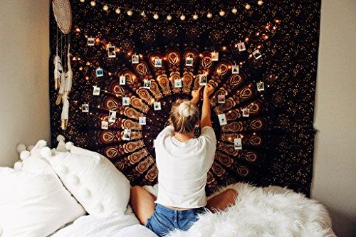 India Hecho a mano Decoración de la pared de Hippie Decoración de...
