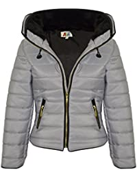 Amazon.co.uk: Silver - Coats & Jackets / Girls: Clothing
