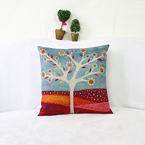 weksir-cotton-linen-square-throw-pillow-case-decorative-sofa-cushion-cover-pillowcase-colorful-1818-