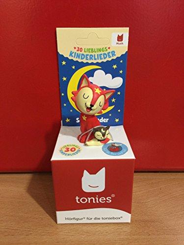 Preisvergleich Produktbild Tonies Hörspiel 30 Lieblings-Kinderlieder 01-0048 Spielzeug 30 Lieblings L/B/H ca. 7/7/17 cm