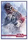 Star Wars Solo: A Story Poster Chewbacca at Work (94x63,5 cm) gerahmt in: Rahmen Blau