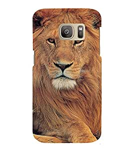 Cute Lion Back Case Cover for Samsung Galaxy S7