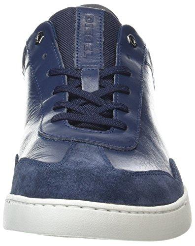 Diesel Mens S-studshean Sneaker Blu (blu Iris / Castlerock)
