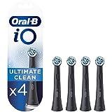 Oral-B iO Ultimate Clean Opzetborstels Zwart, 4 Stuks Brievenbusverpakking