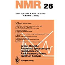 In-Vivo Magnetic Resonance Spectroscopy I: Probeheads and Radiofrequency Pulses Spectrum Analysis (NMR Basic Principles and Progress)