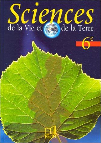Science de la Vie et de la Terre, 6ème