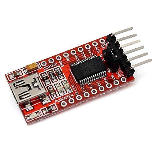 Henreal USB zu TTL Serial Modul FT232RL FTDI 3.3V 5V ISP Adapter USB Arduino Pro Mini -