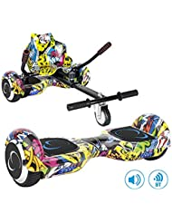 SmartGyro X2 UL Street con Go Kart Street - Pack Hoverboard y Kart (Ruedas de