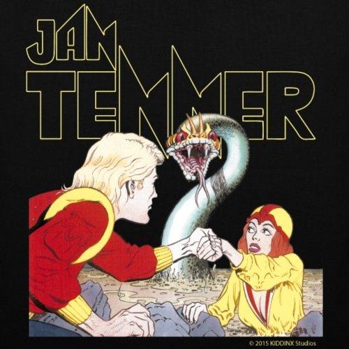 Spreadshirt Jan Tenner Sweetheart By Lurya Borsa In Tessuto Nero