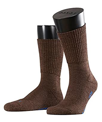 FALKE Unisex-Socken 16486 Walkie light Trekking SO, Gr. 35/36, braun (dark brown 5450)