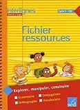 Etude de la langue CE2 Cycle 3 Interlignes - Fichier ressources