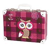OLIVIA THE OWL - Eule - Spielzeugkoffer Spielkoffer Kofferl Kinderkoffer Kindergepäck - 49305-051 Schneiders Vienna