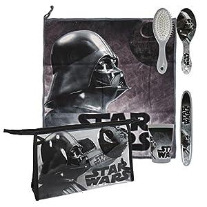 Star Wars Star Wars-2500000740 Set Neceser higiene Comedor Escuela, Uacutenica (Artesanía Cerdá 2500000740)