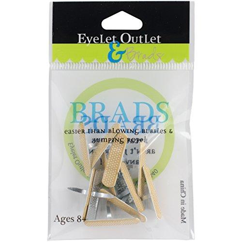 eyelet-outlet-shape-brads-12-pkg-bandaid
