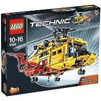 LEGO Technic - 9396 - Jeu de Construction - L'Hélicoptère