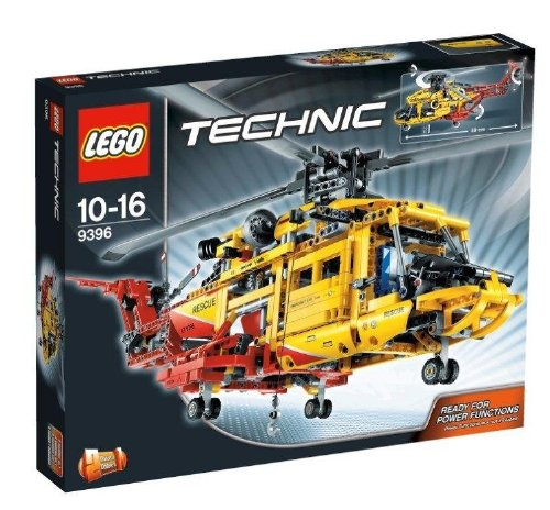 Preisvergleich Produktbild LEGO Technic 9396 - Großer Helikopter