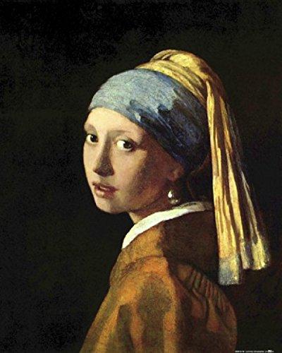 1art1 57722 Johannes Vermeer - Das Mädchen Mit Dem Perlenohrring, 1665 Kunstdruck 50 x 40 cm