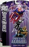 JUSTICE LEAGUE UNLIMITED DC SUPER HEROES SUPERMAN/AQUAMAN/DR. LIGHT Figures by Mattel