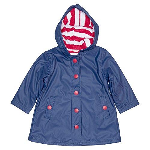 Hatley Girl's Splash Navy Rain Jacket