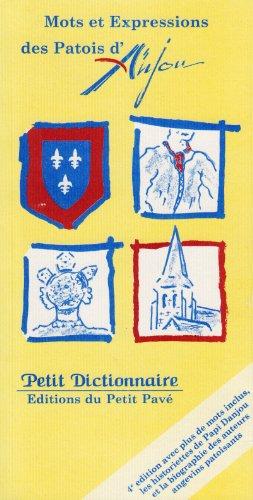 Mots et Expressions des Patois d'Anjou