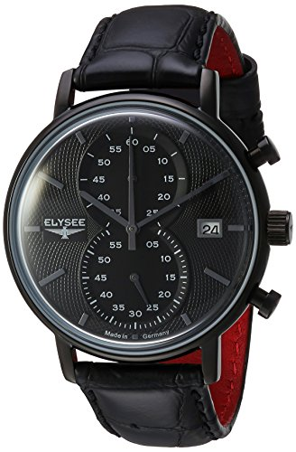 Mens Elysee Classic Chronograph Watch 83822