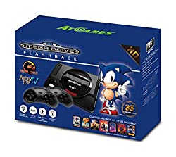 AT-Games Console Retrò SEGA Genesis FlashbackConsole Retro Sega Genesis FlashbackSpecifiche:PiattaformaSEGA GenesisSlot Scheda di giocoCompatibile con le cartucce originaliUscite HDMISiColoreNeroNr di Gamepad Inclusi2 Gamepad WirelessVideogioco Inclu...