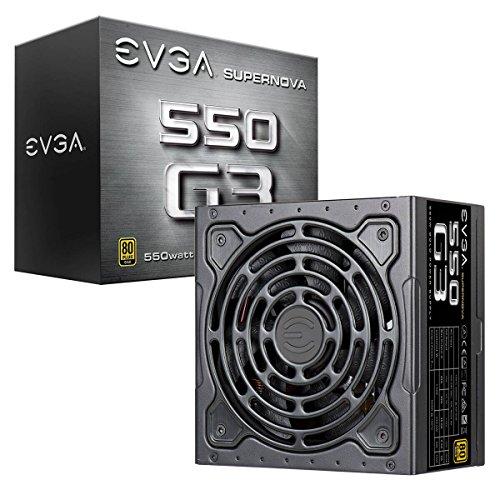 EVGA 220-G3-0550-Y2 PC-Gehäuse (550W) mehrfarbig
