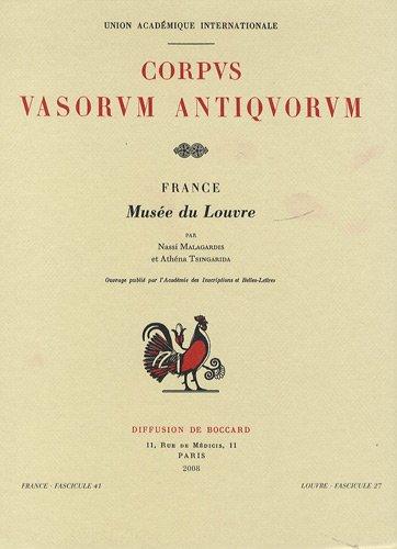Corpus Vasorum Antiquorum : France fasci...