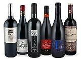 Rotwein-Bestseller-Set | prämierte Weine (trocken) aus Frankreich, Italien, Spanien | 6 Flaschen (0,75l) Syrah, Grenache, Negroamaro, Montepulciano, Tempranillo | Ideal als Geschenk-Paket oder für den persönlichen Premium-Wein-Genuss
