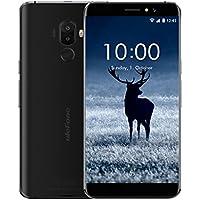 Ulefone S8 Pro SIM-free Smartphone sbloccato 4G 5.3 pollici schermo HD In-cell 0.5mm Rinforzo Metallico Android 7.0 Doppia Camera Posteriore 8MP Camera Frontale Softlight 2MP MediaTek MT6737 Quad Core 2GB RAM 16GB ROM GPS Dual sim dual standby GSM WCDMA FDD-LTE Touch ID 0.18s sbloccato wifi Bluetooth 4.0 (Nero)