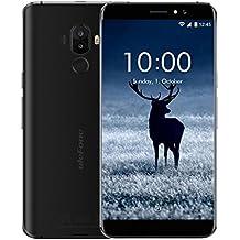 """Ulefone s8 pro - Smartphone barato libre 4G Visión más grande que nunca Teléfono Móvil Libre,5.3""""HD 1280 x 720 pixels, Android 7.0, 16GB ROM+2GB RAM, MediaTek MT6737 Quad Core 1.3GHz, Cámara de 13MP/5MP, Batería 3000mAh,Dual SIM Color negro"""