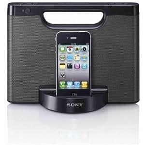 Sony RDP-M5iP Station d'accueil avec haut-parleurs compacte pour iPod/iPhone Noir
