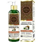 #8: Morpheme Remedies Pure Organic Virgin Coconut Oil (ColdPressed) For Hair, Body, Skin Care, Massage - 120ml