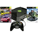 Xbox Console with Halo & Midtown Madness 3