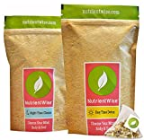 NUTRIENT WISE Official Detox Tea & Healthy Diet Plan - Natural Weight Loss Slimming Supplement & Appetite Suppressant - Ultimate Way To Calm & Cleanse Your Body