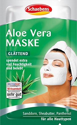 Schaebens Aloe Vera Maske, 15er Pack (15 x 10 ml) - Aloe-maske